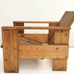 Gerrit Rietveld Crate Chair Mamas And Papas High Seat Cover Vintage By For Sale At Pamono
