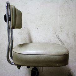 Vintage Dentist Chair Posture Argos Chromed Steel And Skai 1960s For