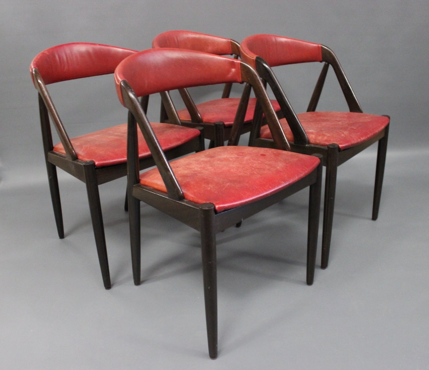 retro dining room chairs folding beach target vintage model 31 by kai kristiansen for