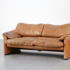 Leather Sofa Manufacturers Italy Lounge Suite Bed Vintage Maralunga By Vico Magistretti For Cassina ...