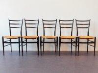 Italian Spinetto Chiavari Dining Chairs, 1950s, Set of 5 ...