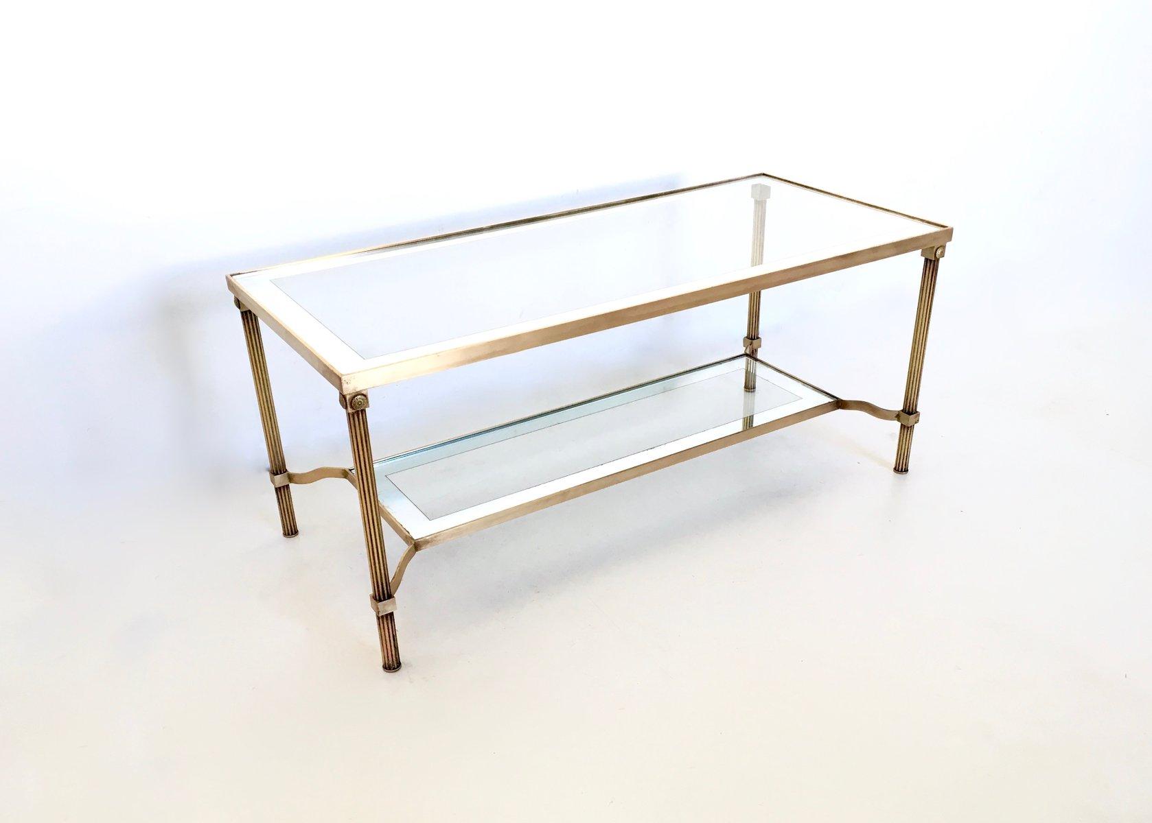 Couchtisch Glas Und Messing Glas Messing Rund Moderne Rund Glas