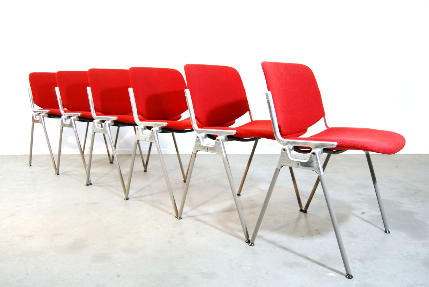 italian dining chairs australia loveseat and chair covers red by giancarlo piretti for