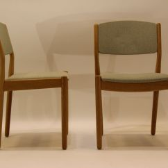 Green Dining Chairs Uk Chair Covers And Bows South Wales Mid Century J61 Oak Fabric By Poul M