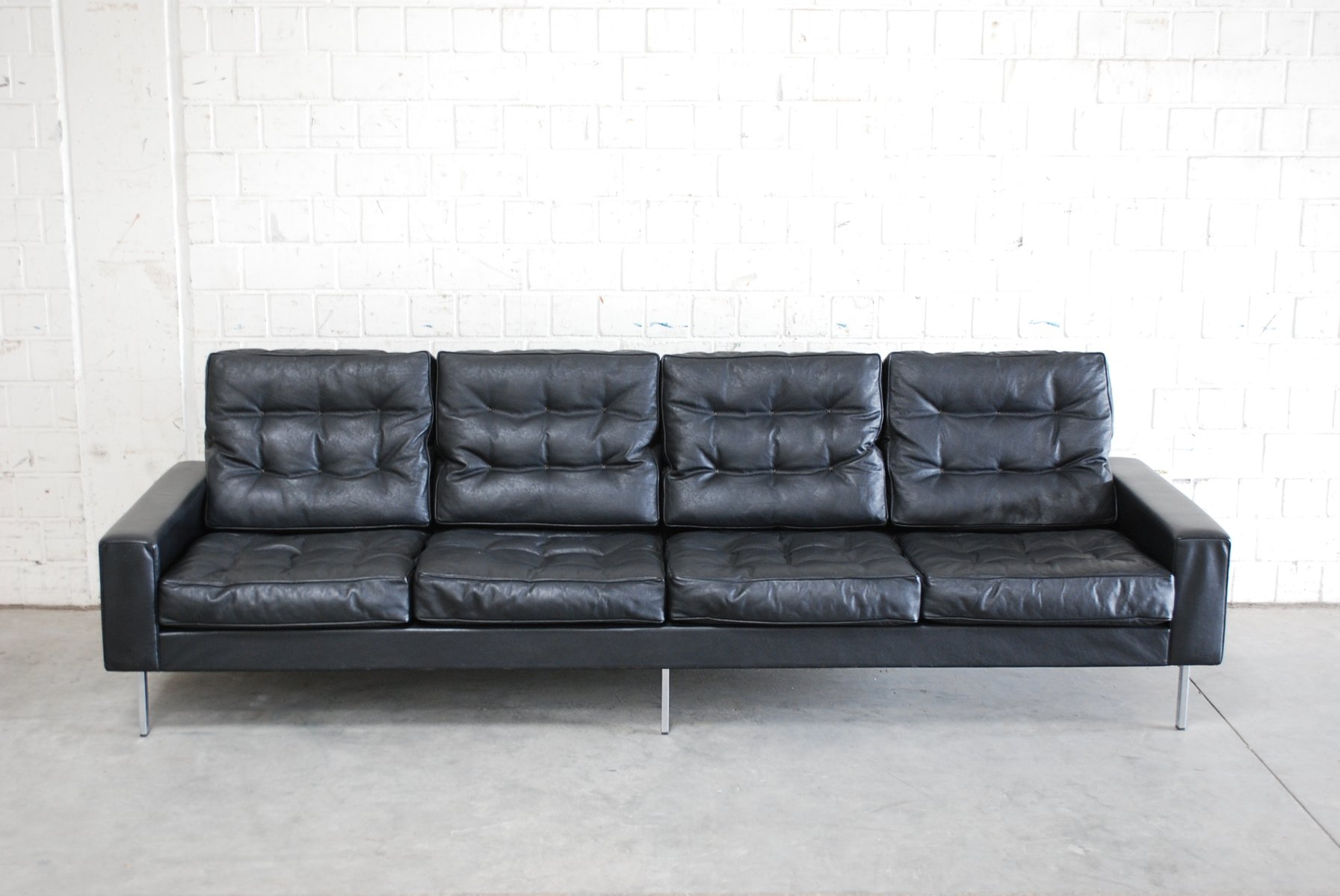 knislinge sofa idhult black review loft m s leather 4 seater 1700 jelly by vibieffe