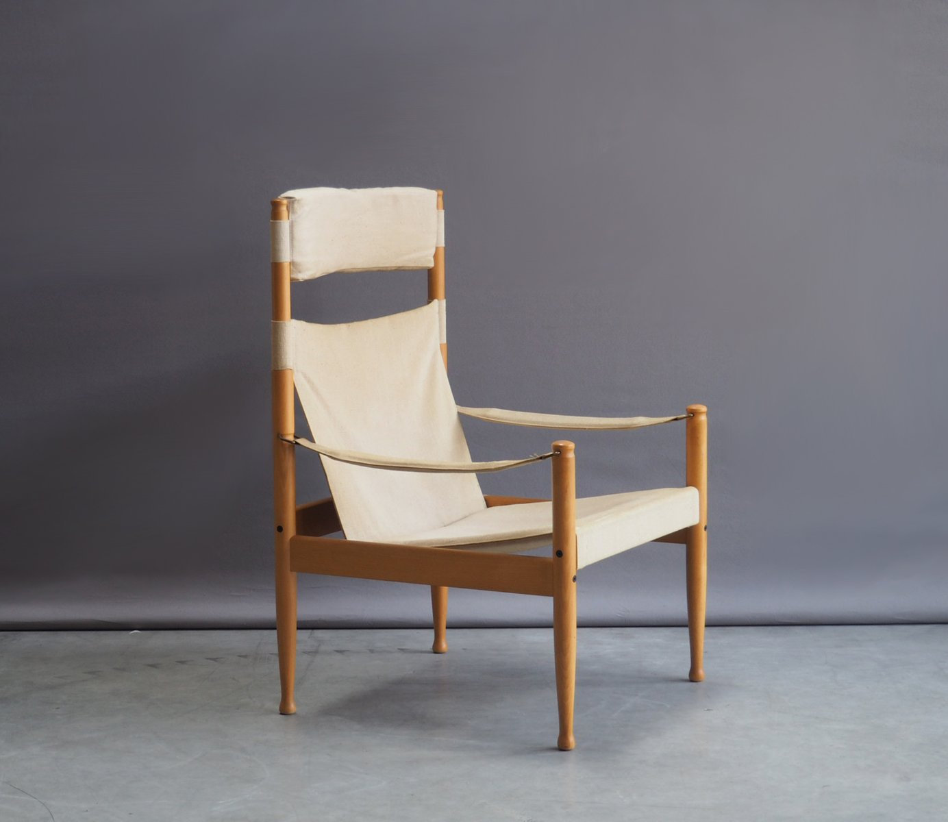 safari high chair cheap covers for sale in durban mid century beech and canvas by erik wørts