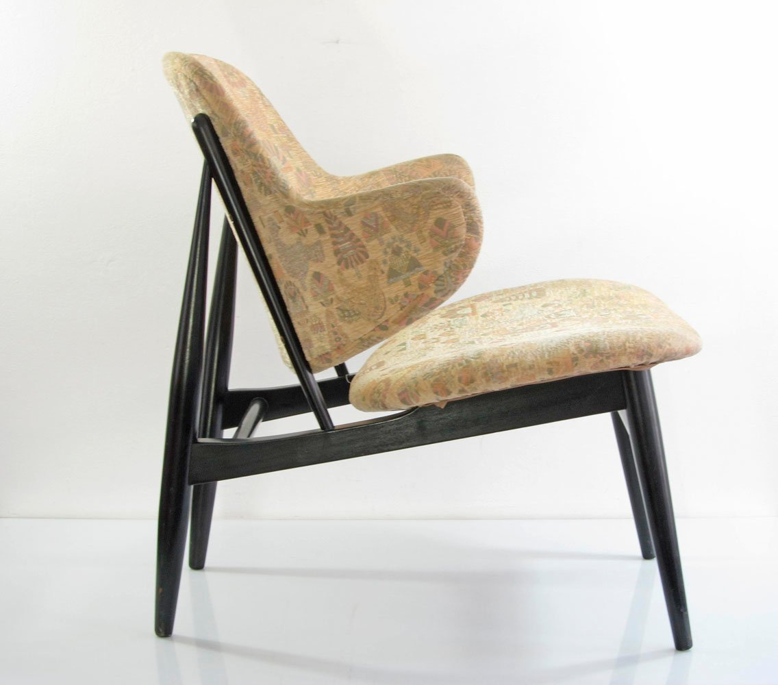 Danish Lounge Chair Vintage Danish Lounge Chair By Ib Kofod Larson For