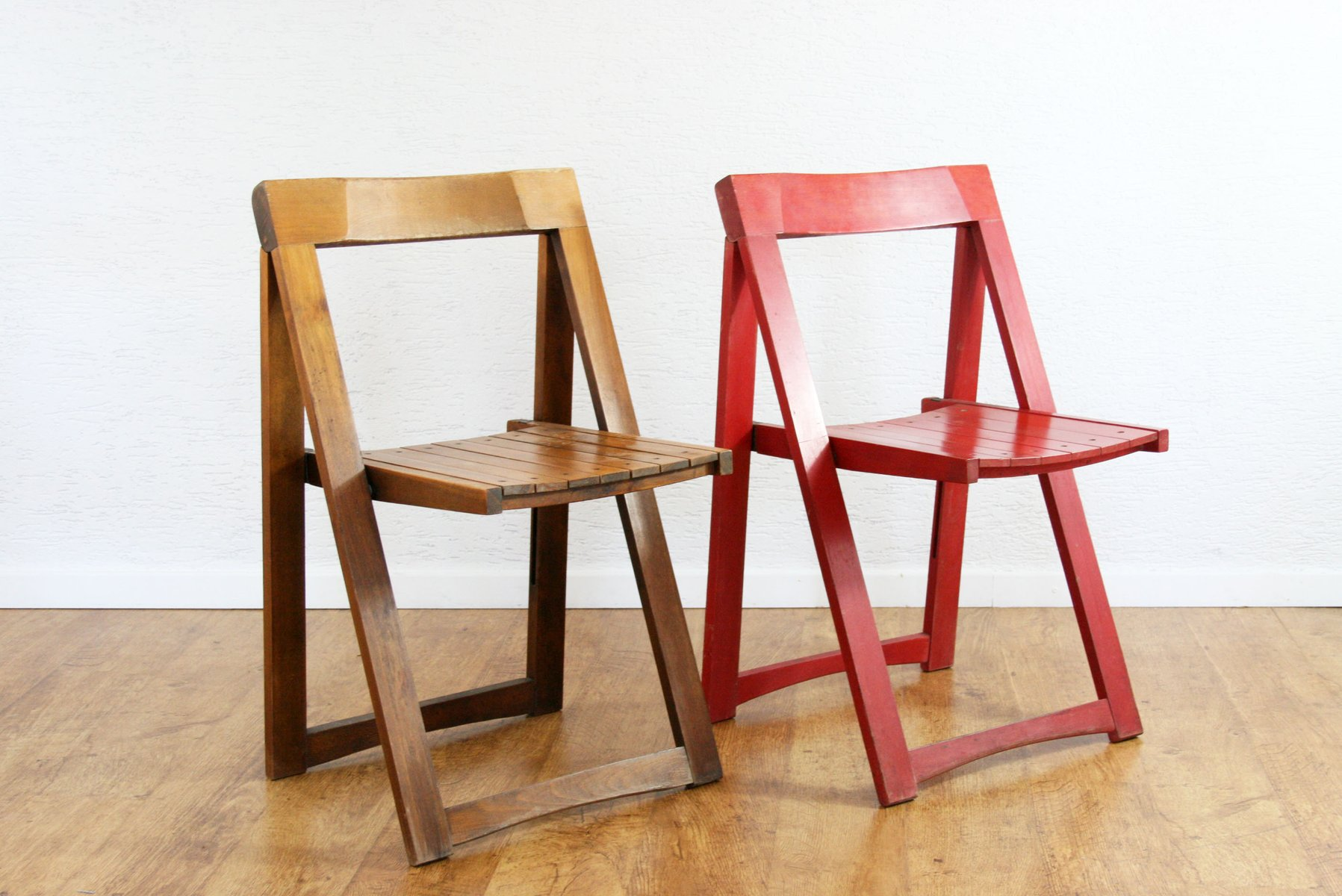 folding chair qatar ikea and a half mid century cream red chairs by aldo jacober