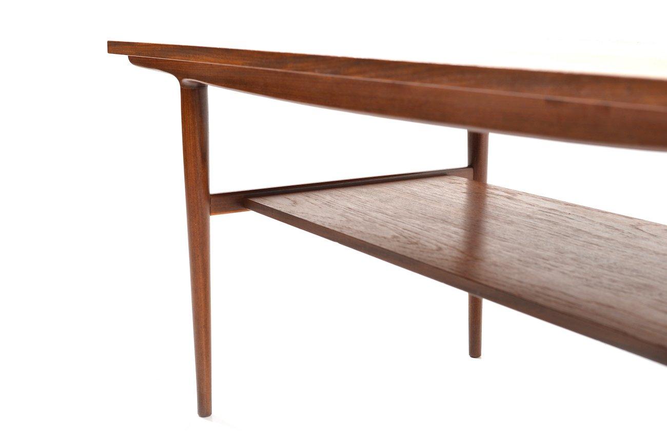 teak sofa table catnapper recliners danish 1960s for sale at pamono