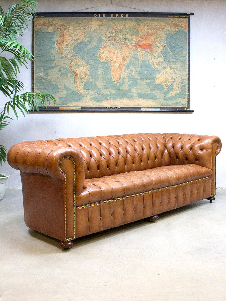leather sofa manufacturers italy sectional sofas houston tx vintage chesterfield for sale at pamono