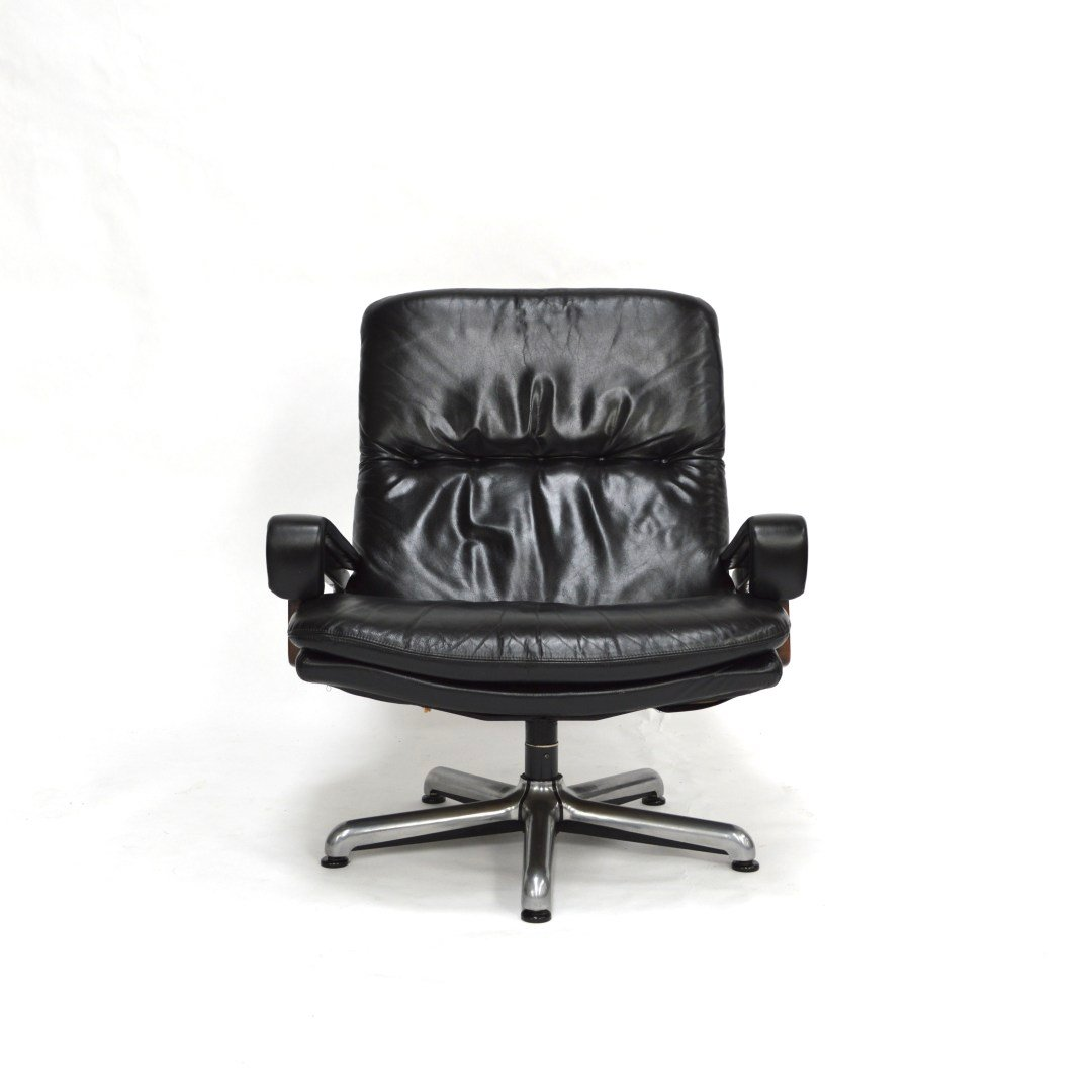 swivel chair king living bariatric office chairs by andre vandenbeuck for strässle 1960s