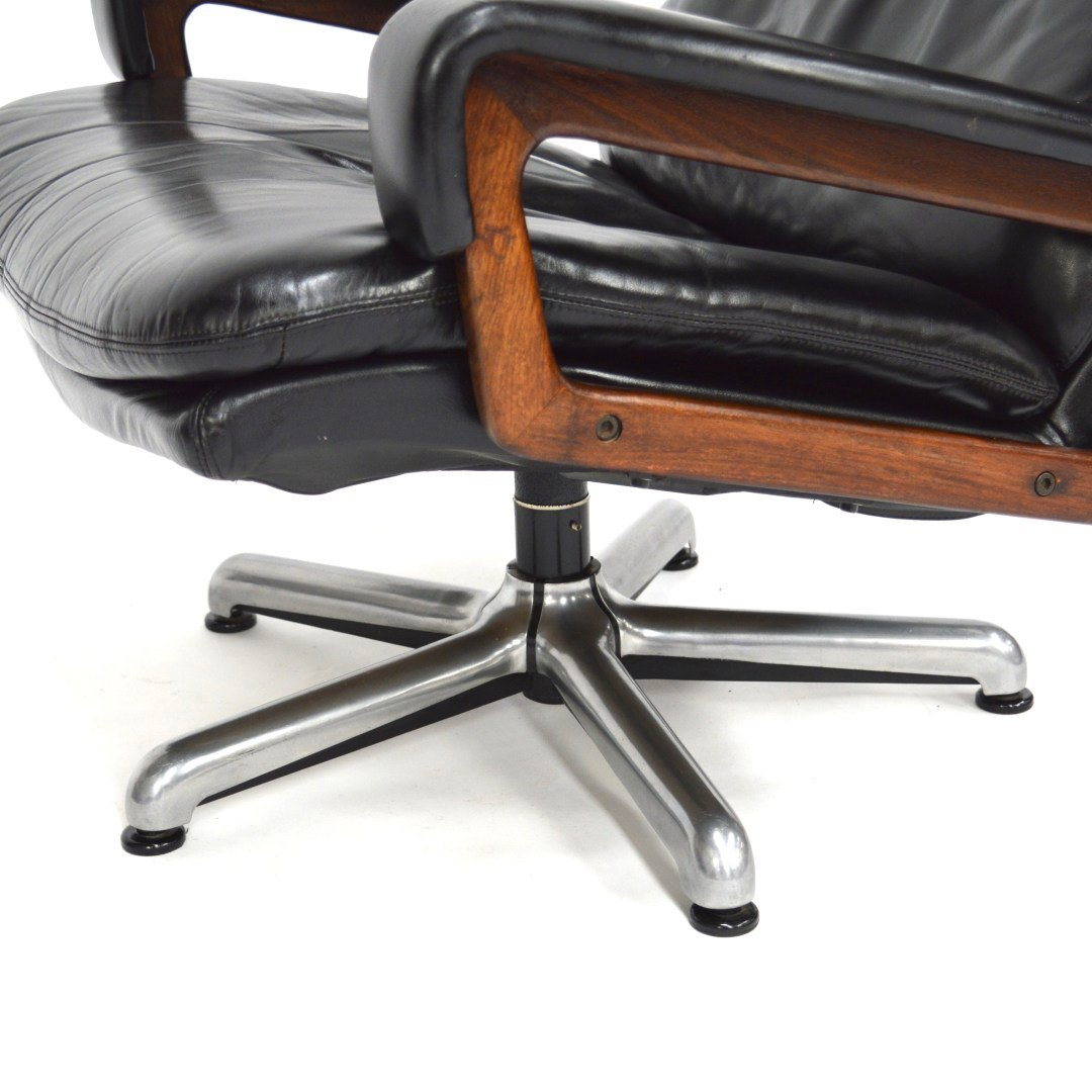 swivel chair king living office urban ladder by andre vandenbeuck for strässle 1960s