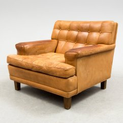 Buffalo Leather Chair Rail Pros And Cons Mexico Easy By Arne Norell 1970s