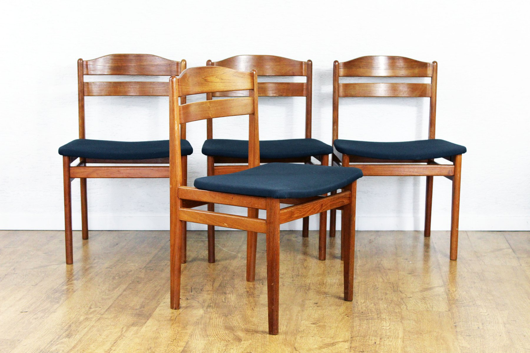 mid century chairs uk executive office leather scandinavian set of 4 for sale at pamono