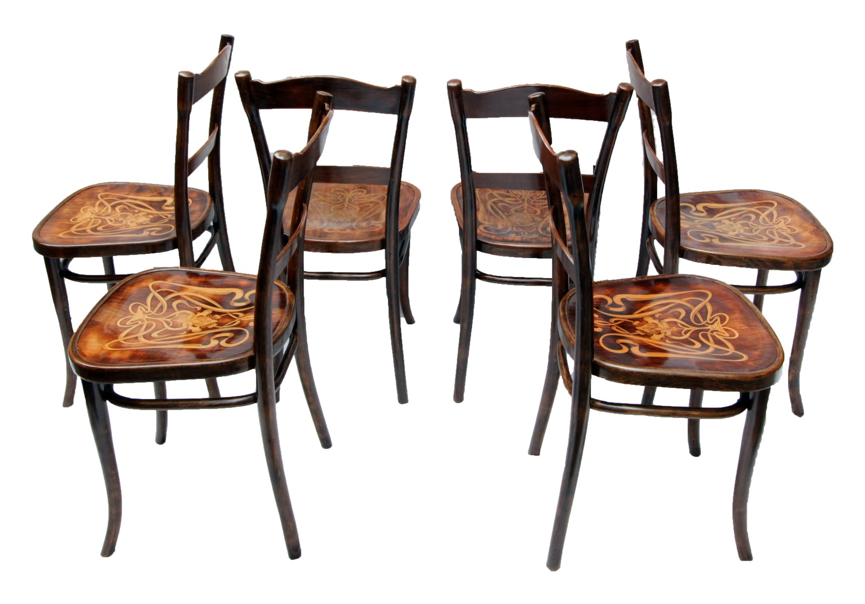 bentwood dining chair purple cuddle antique decorated chairs from thonet set