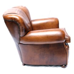 Leather Club Chairs For Sale Best Chair Back Pain Art Deco Dutch At Pamono