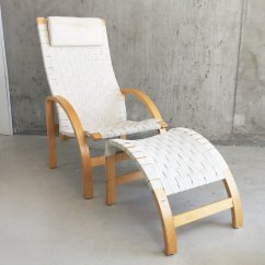 Mid Century Danish Chair High Back Patio Cushions Canada Lounge And Footstool For Sale At Pamono