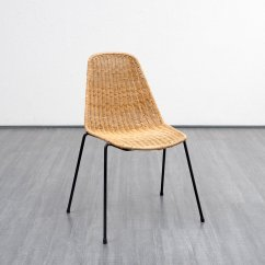 Wicker Chair For Sale Sports Folding Chairs Vintage 1960s At Pamono