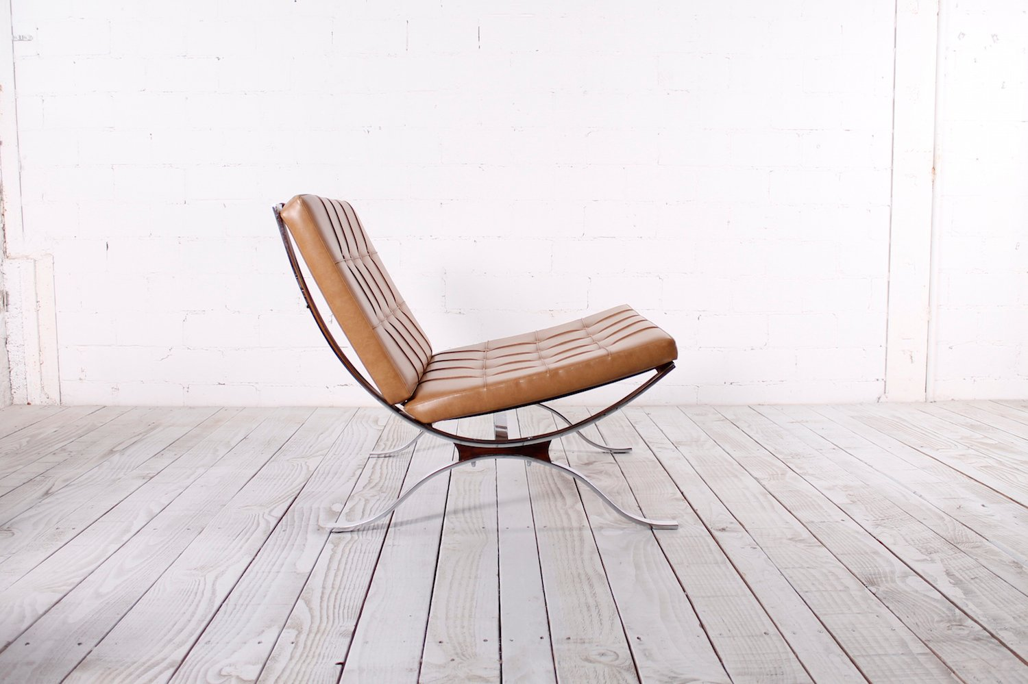 steel lounge chair gold upholstered chairs flat 1960s for sale at pamono