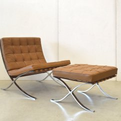 Barcelona Chairs For Sale Intex Air Chair Vintage And Ottoman By Mies Van Der Rohe
