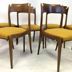 Italian Dining Chairs Australia Chair Covers Dunnes Stores Mid Century 1950s Set Of 6 For