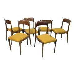 Italian Dining Chairs Australia Weird Mid Century 1950s Set Of 6 For
