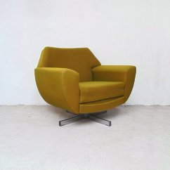 Swivel Lounge Chairs Office Chair Covers Vintage 1970s For Sale At Pamono
