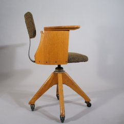 Desk Chair Height Hanging Egg New Zealand Vintage Adjustable Office For Sale At Pamono
