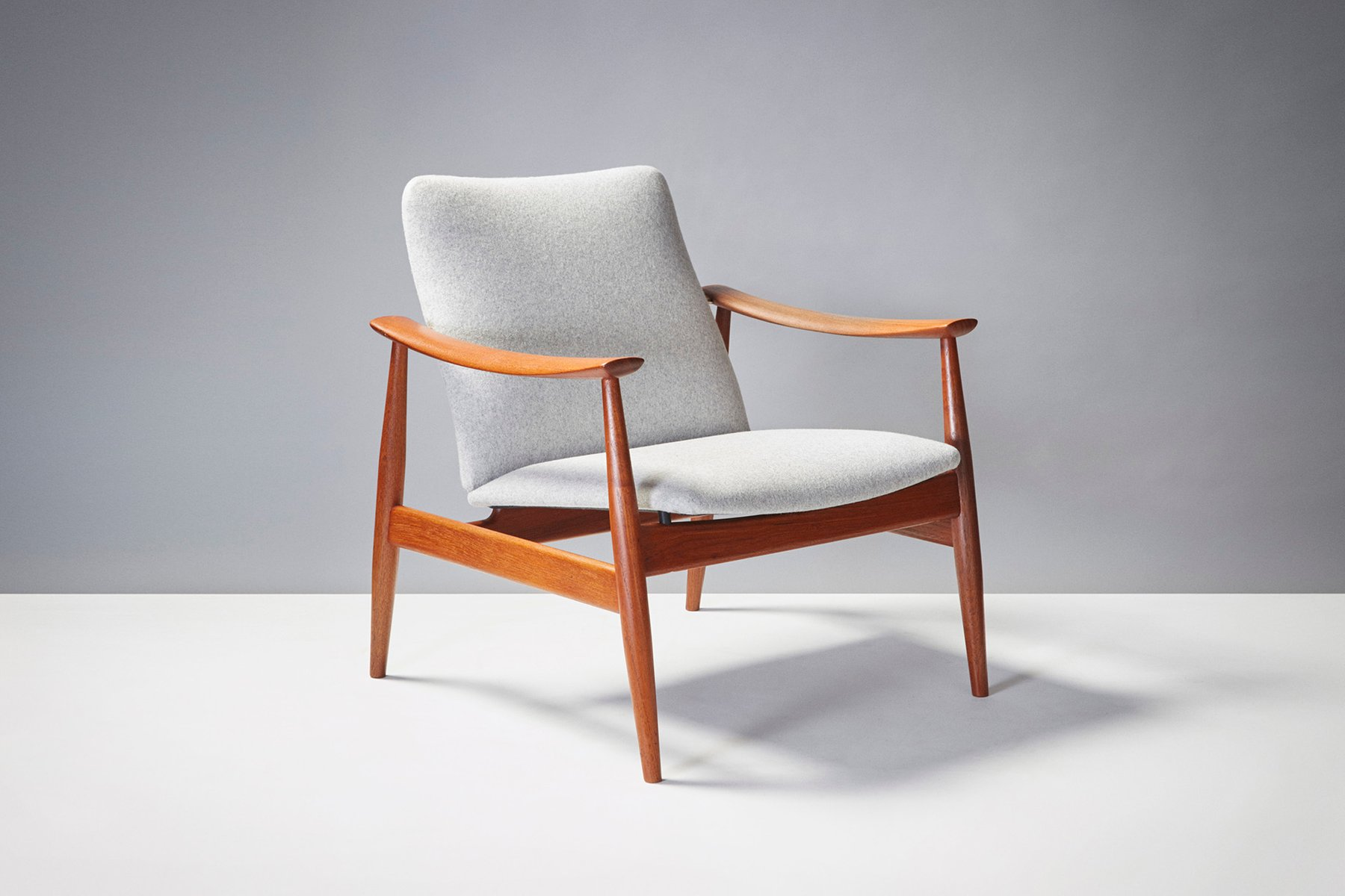 finn juhl chair uk best inversion model 138 by for france and son 1950s