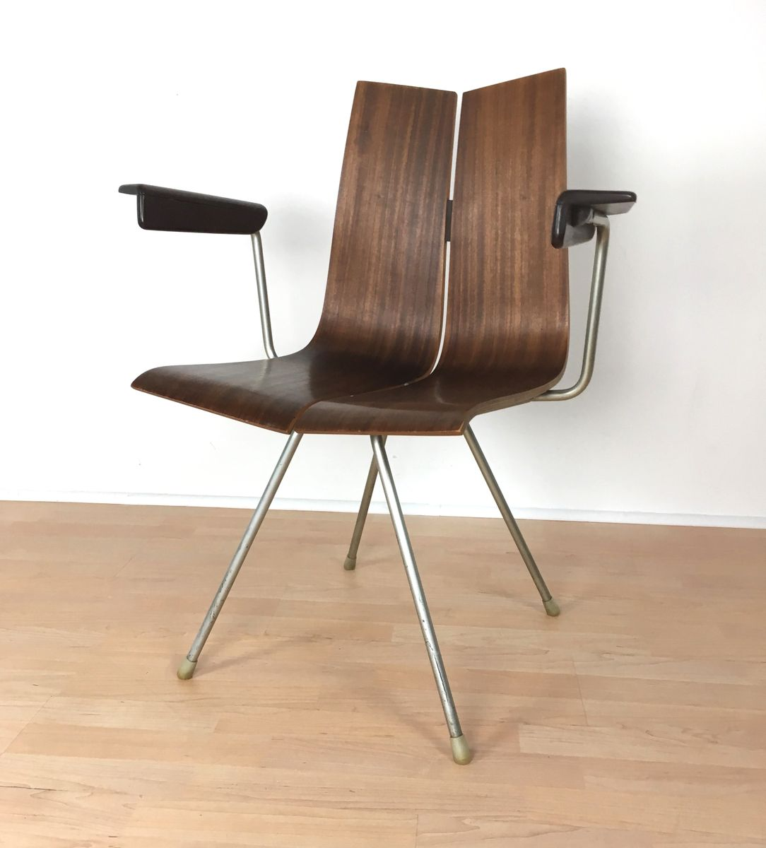 georgia chair company black and white chevron vintage swiss ga 4017 b ph typ 739 by hans