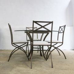 Antique French Dining Table And Chairs Ergonomic Chair Canberra Vintage Set With 4 By