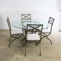 Antique French Dining Table And Chairs Doll Bouncy Chair Vintage Set With 4 By