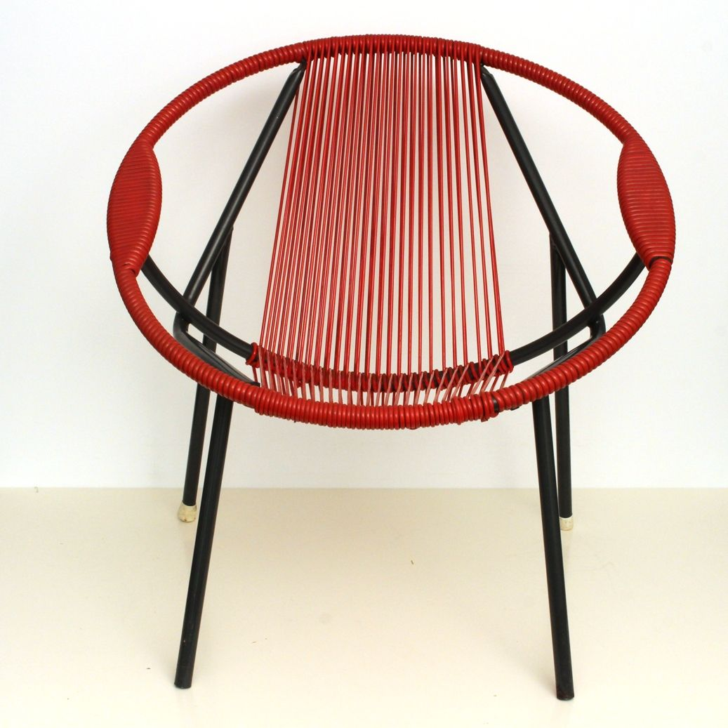 antique metal chairs for sale chair cover hire preston vintage red rubber and 1950s at pamono