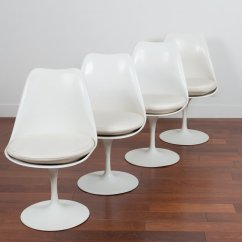 White Chairs For Sale Swing Chair Amazon Vintage Tulip By Eero Saarinen Ed Knoll