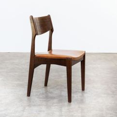 Teak Dining Room Chairs For Sale Phil And Teds Lobster Chair Leatherette 1960s Set Of 4