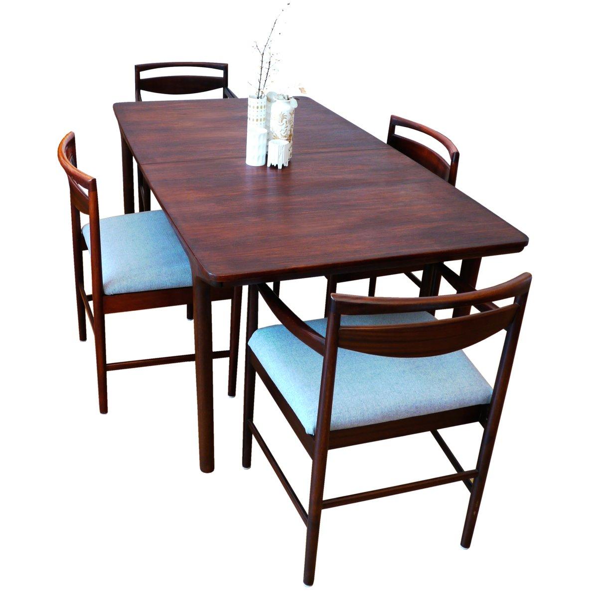 Grande Table de Salle  Manger  Rallonge MidCentury 12 Places par Tom Robertson pour McIntosh