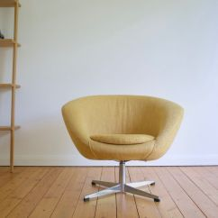 Ab Swivel Chair Infant Bean Bag Swedish Lounge From Overman 1960s For