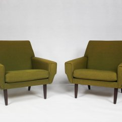 Mid Century Danish Chair Recliner Outdoor Chairs Uk Lounge Set Of 2 For Sale At Pamono