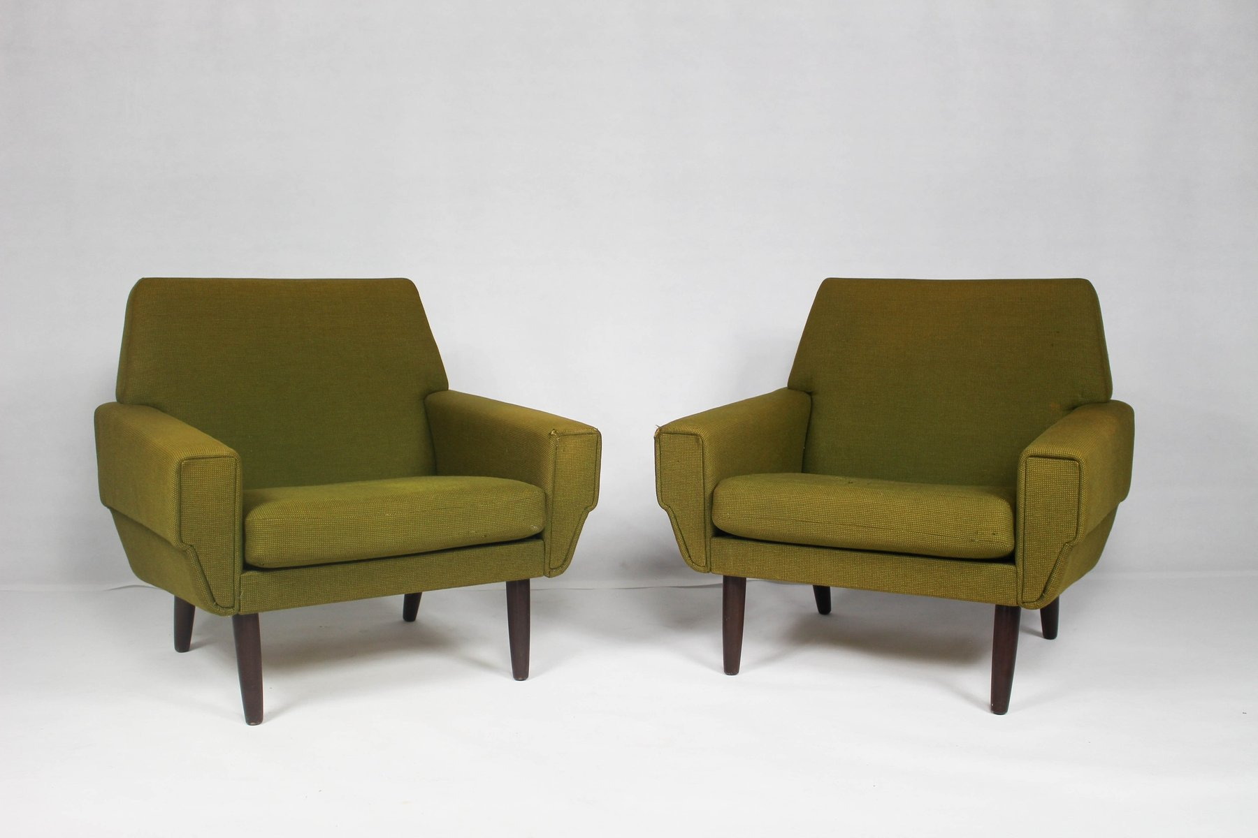 Mid Century Danish Chair Mid Century Danish Lounge Chair Set Of 2 For Sale At Pamono