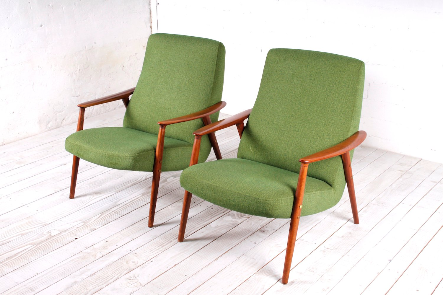 dux sofa uk luxury bed swedish easy chairs from 1950s set of 2 for sale at