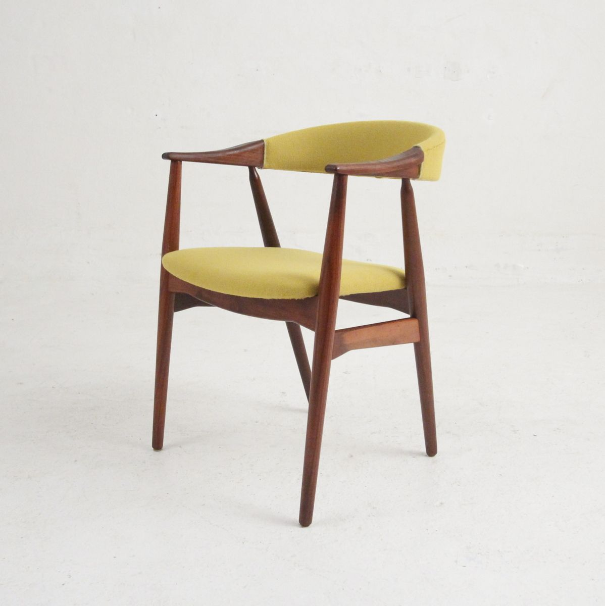 danish modern dining chair coffee chairs in rosewood 1960s set of 6
