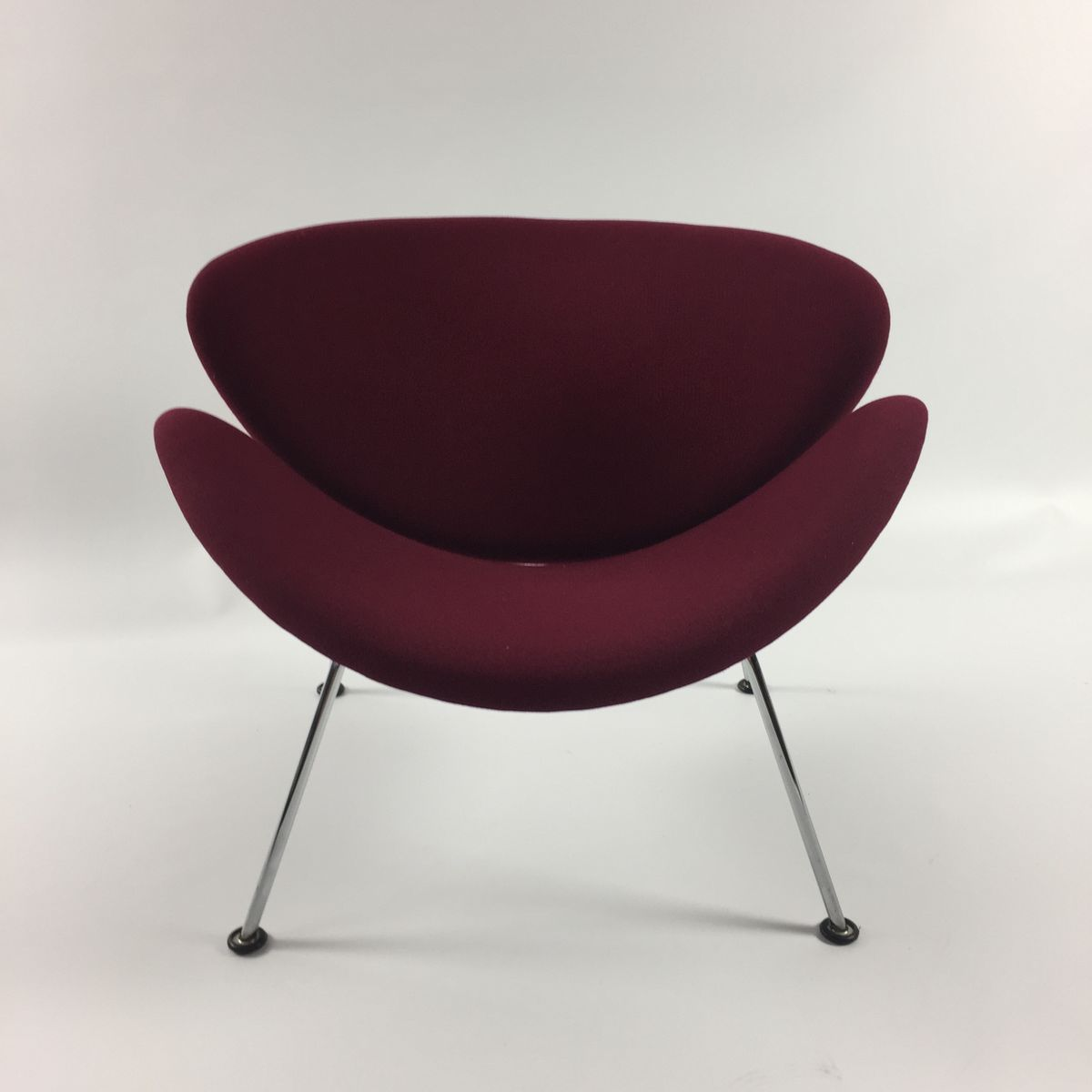 orange slice chair samsonite chairs uk vintage lounge by pierre paulin for
