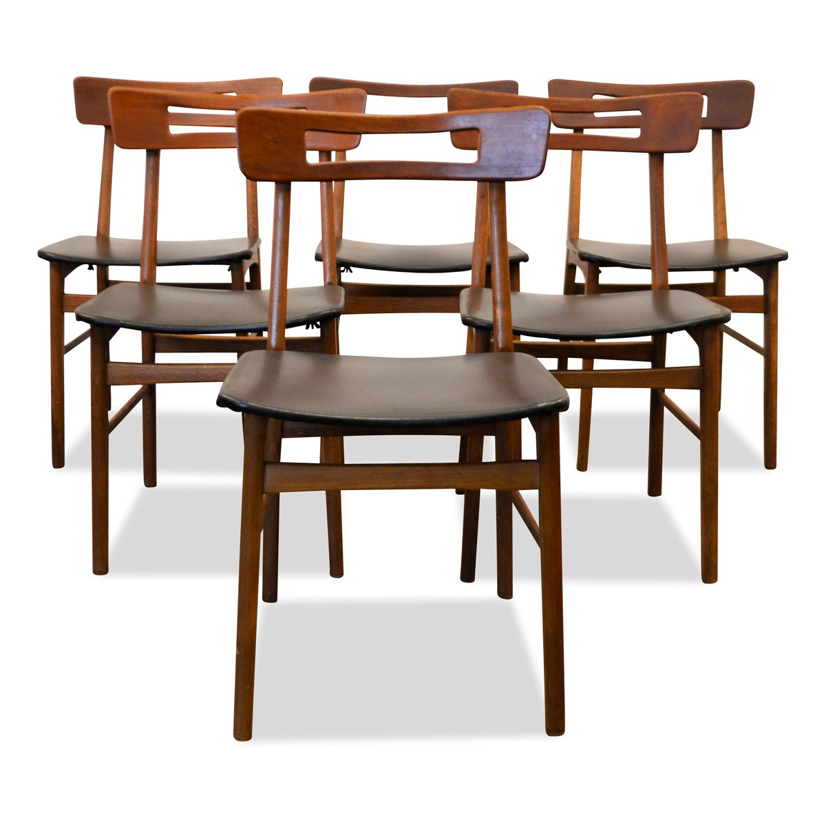 Danish Teak Dining Chairs Danish Teak Dining Chairs 1950s Set Of 6 For Sale At Pamono