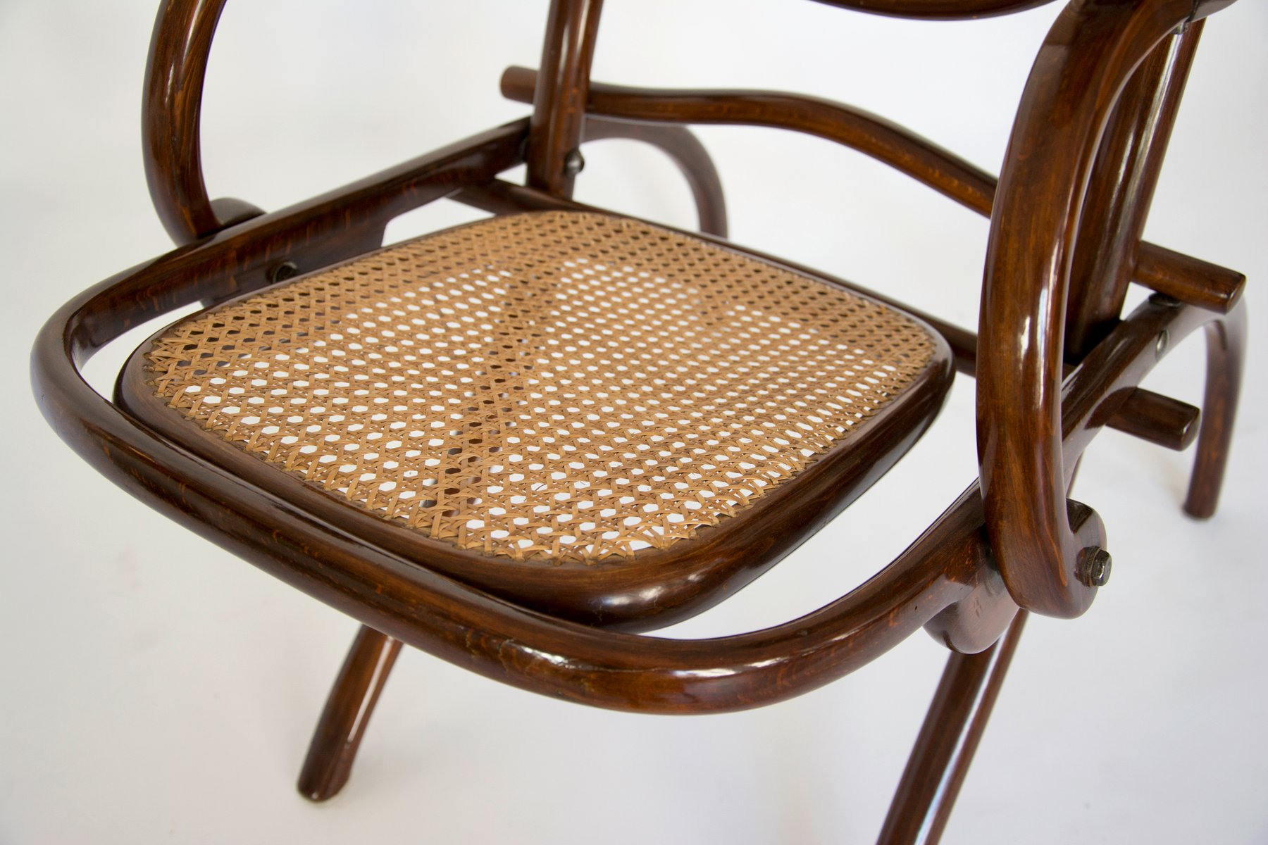 folding z chair replacement bungee cord for zero gravity lounge from thonet 1910s sale at pamono