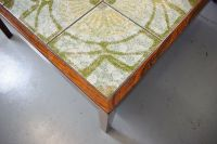 Mid-Century Danish Rosewood Tile Topped Coffee Table for ...