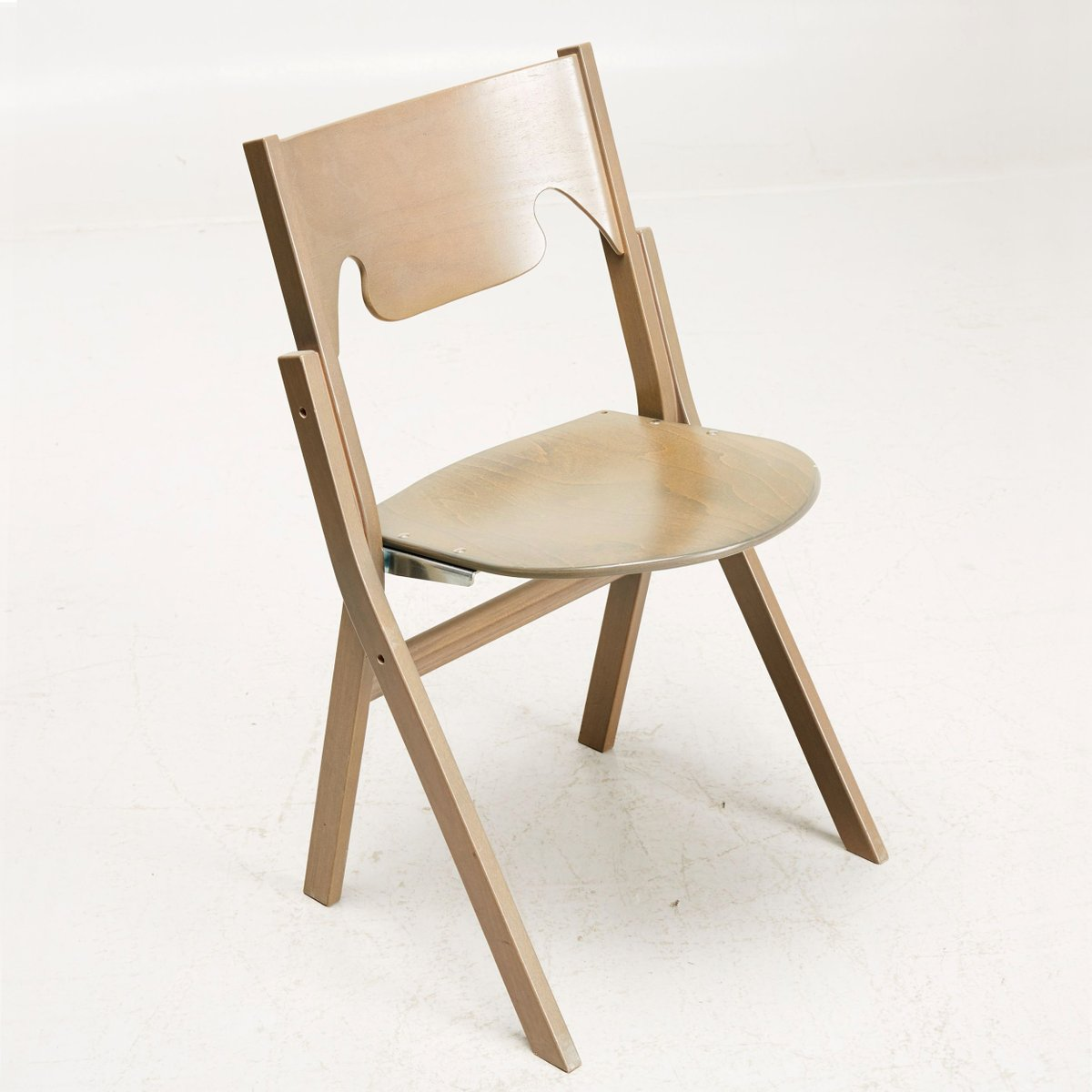 Modern Folding Chairs Scandinavian Modern Folding Chairs By Ake Axelsson Set Of