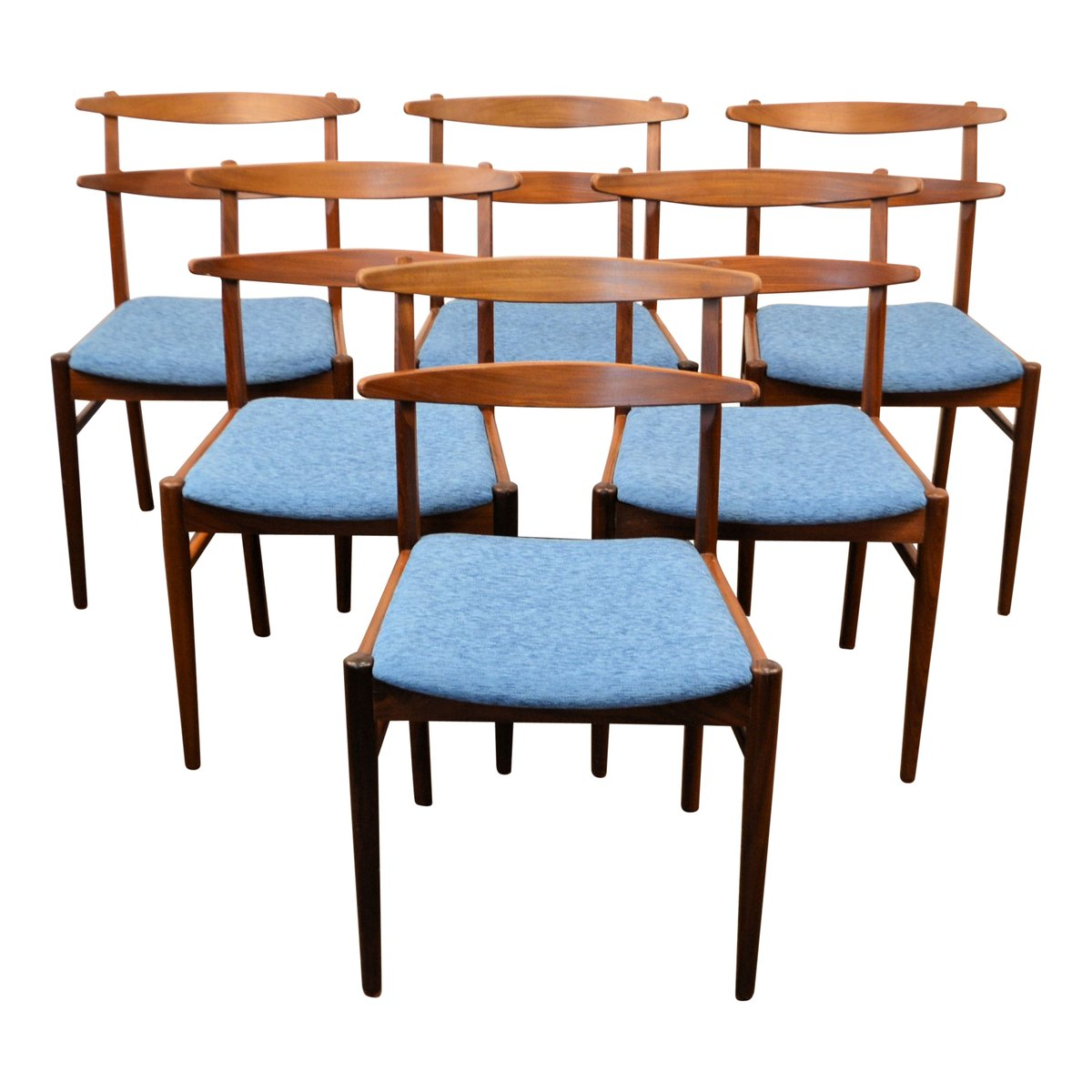 Danish Teak Dining Chairs Danish Teak Dining Chairs 1960s Set Of 6 For Sale At Pamono