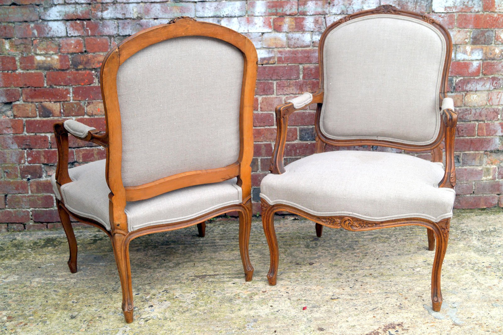 french antique chairs for sale outdoor rocker chair covers salon set of 2 at pamono