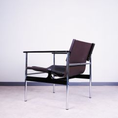 Knoll Pollock Chair Heavy Duty Camp Vintage Sling Lounge By Charles For