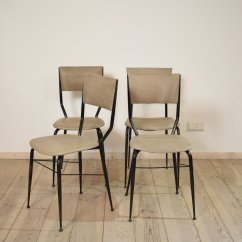 Set Of 4 Dining Chairs Hanging Garden Mid Century Italian For Sale At Pamono